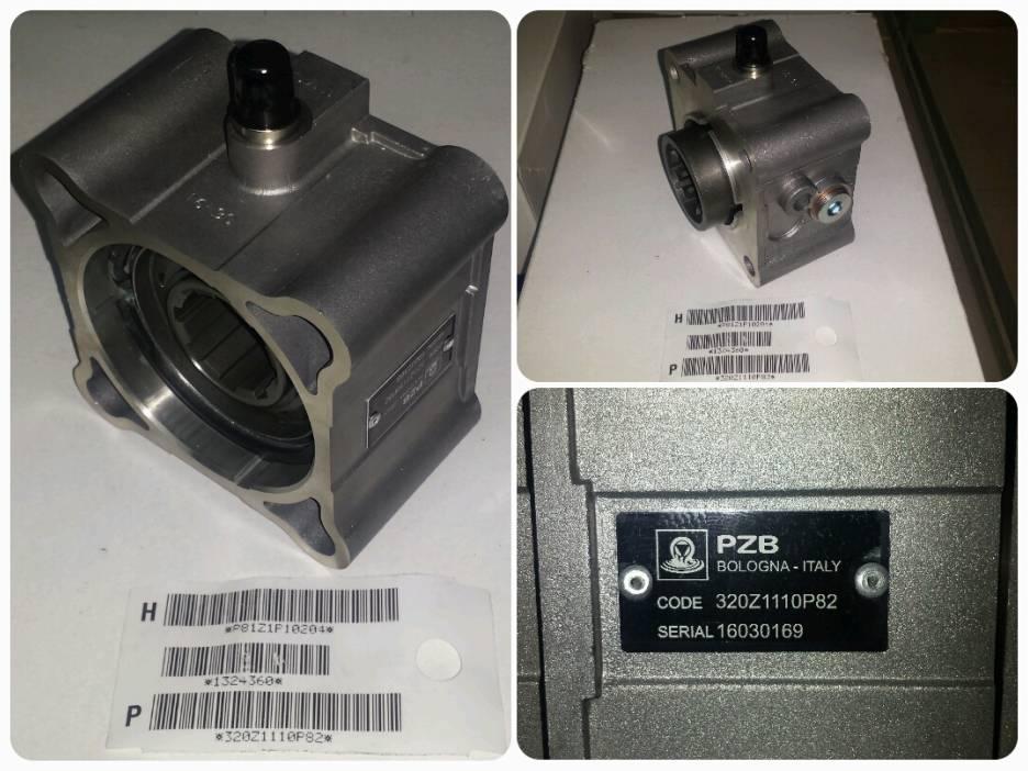 Коробка отбора мощности = ZF (требуется датчик 205E5280000)
